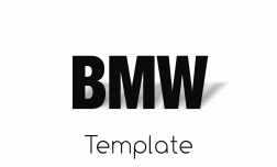 BMW Dirtbike  - Template
