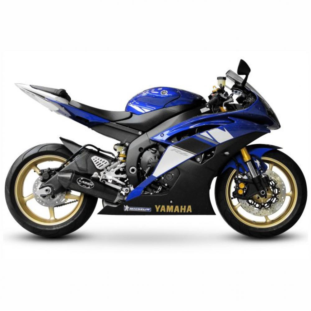 Yamaha R6 2008 RJ15 Dekor Stickerset -  Replica Original Design