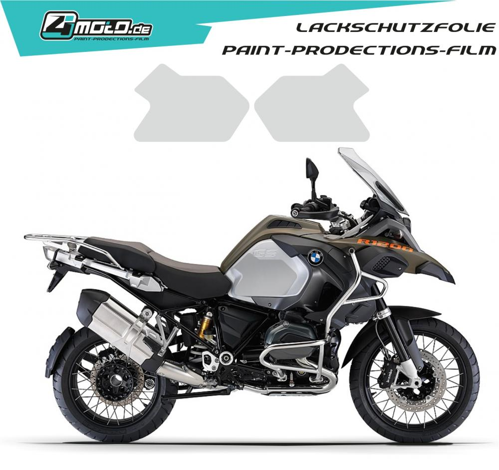 BMW paint protection film  - BMW R 1200 GS 2014 - 2018
