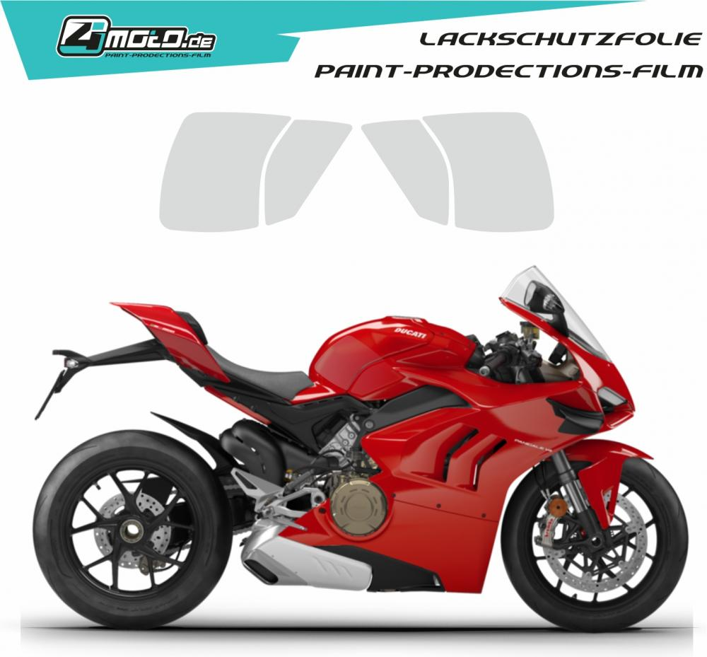 Ducati paint protection film - Panigale V4 2018 - 2019