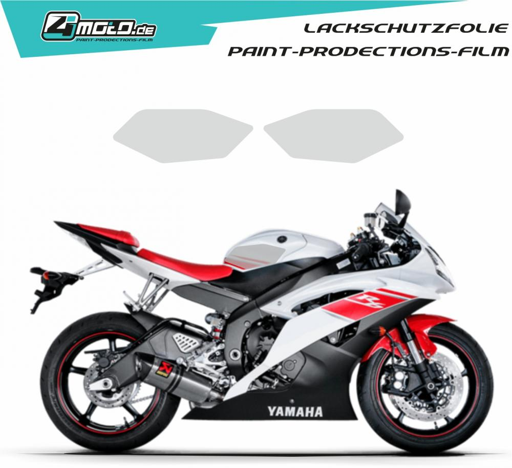 Yamaha paint protection film R6 2008 - 2016