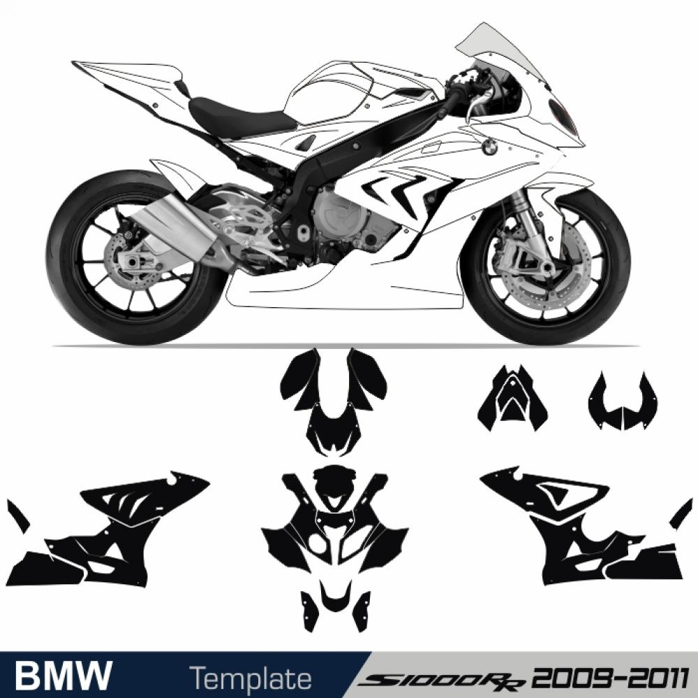 BMW S 1000 RR 2009 - 2011 Template