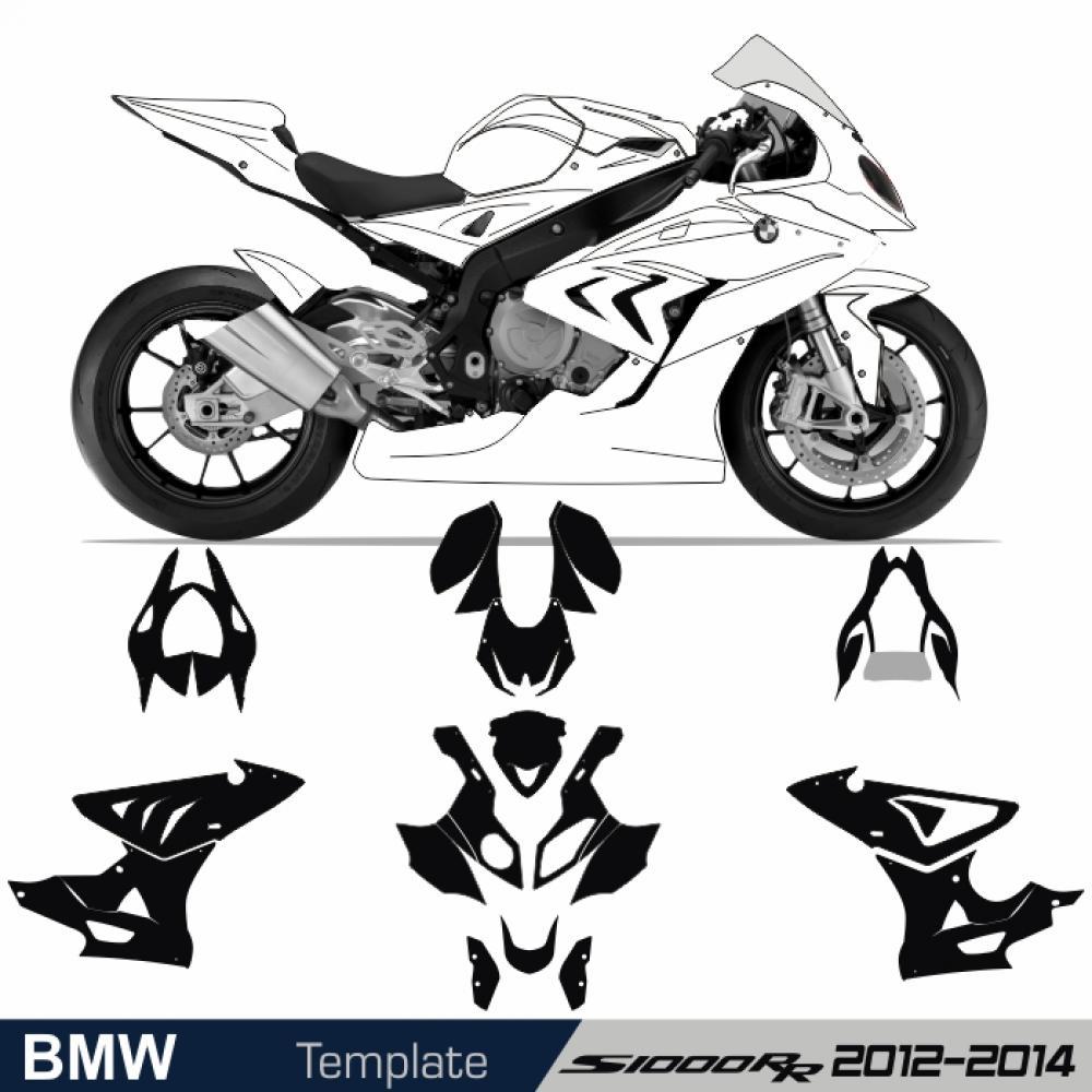motorradaufkleber bikedekore wheelskinzz bmw s 1000 rr 12 14