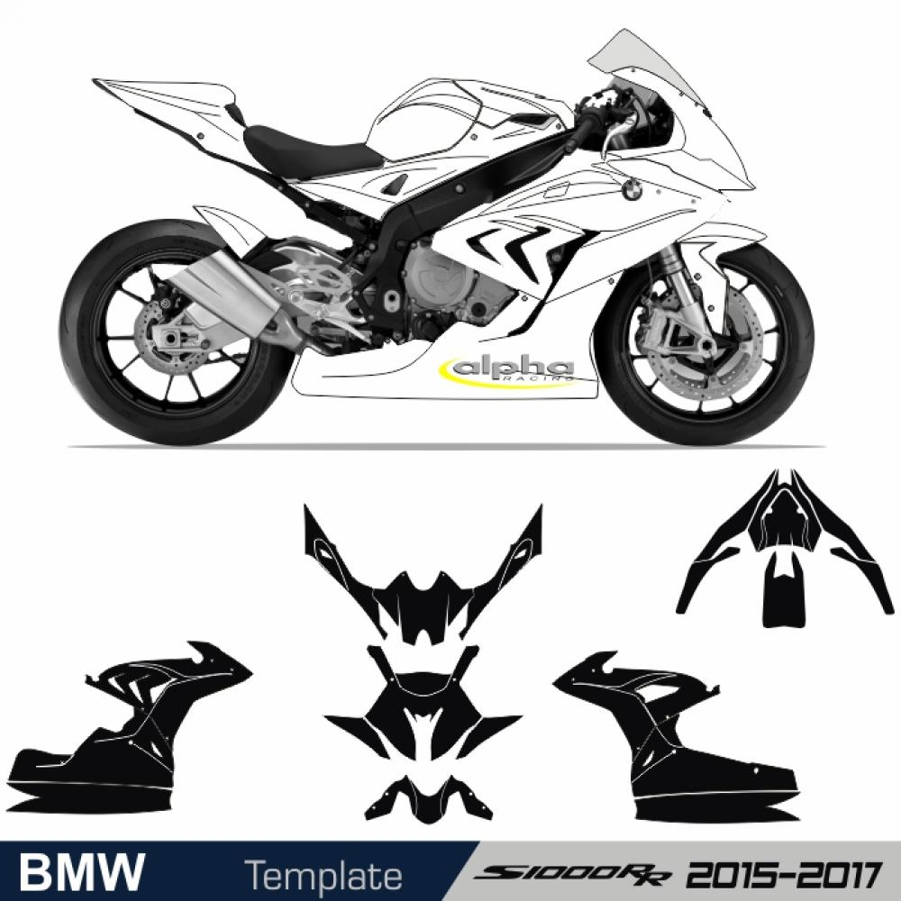 BMW S 1000 RR 2015-2017 Alpha-Racing - Template