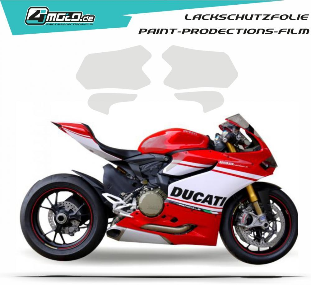 Ducati paint protection film - 99 / 959 / 1199 / 1299 Panigale 2013 - 2015