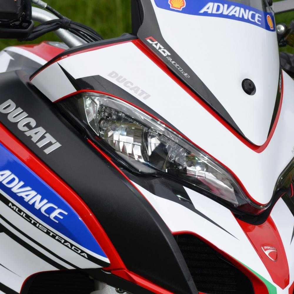"DUCATI Multistrada 1260 ""Race""- Dekor Stickerkit BJ. 2018-2020"