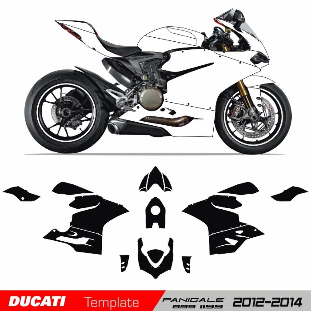 Ducati Panigale 899/1199/1199S 2012-2014 - Template