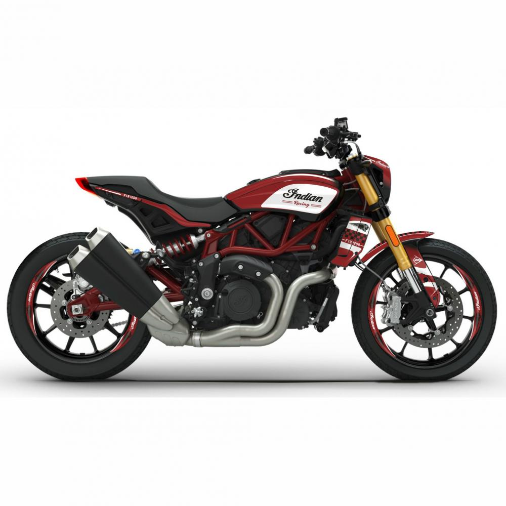Indian FTR 1200 Dekor WineRED
