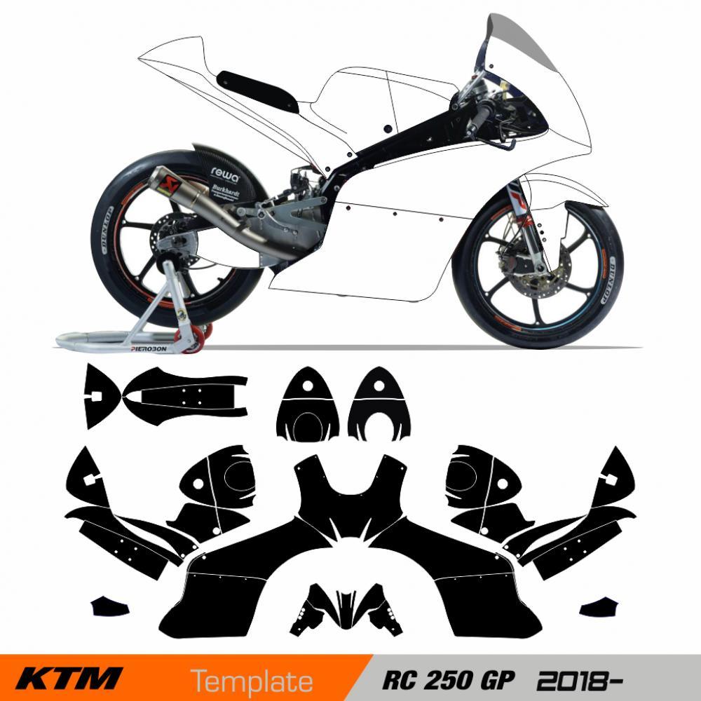 Ktm  Graphics Template