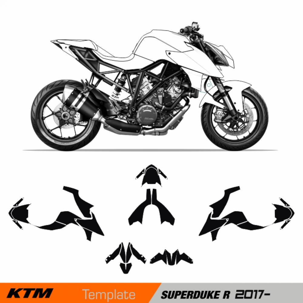 KTM SuperDuke R 2017 - Template