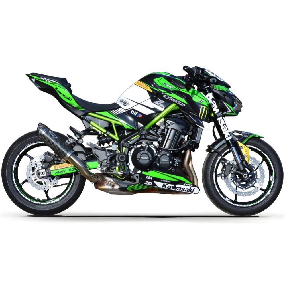 "Kawasaki Z900 ""RACE"" 17- Motorcycle Dekor Graphics"
