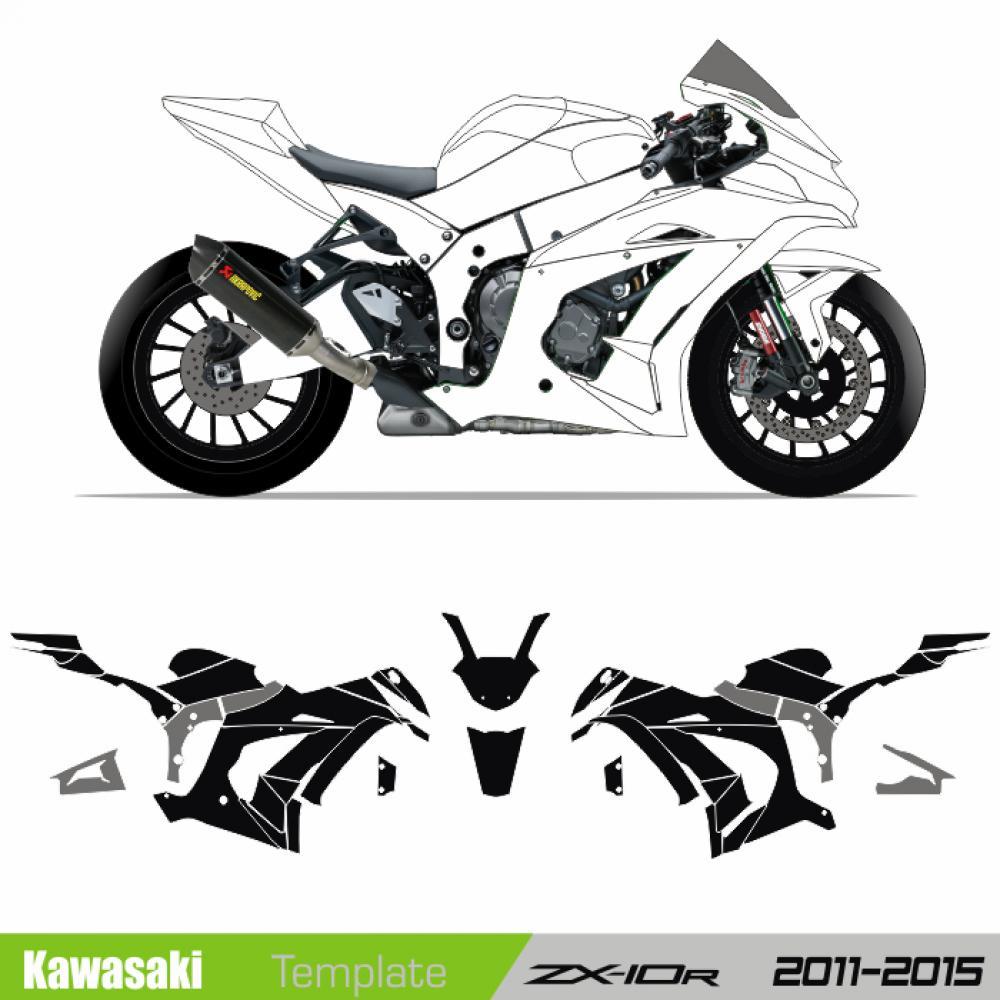 Kawasaki ZX10R 2011 2015
