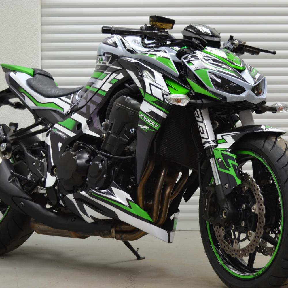 Kawasaki Z1000 Ztyle 14 17 Dekor Stickerkit