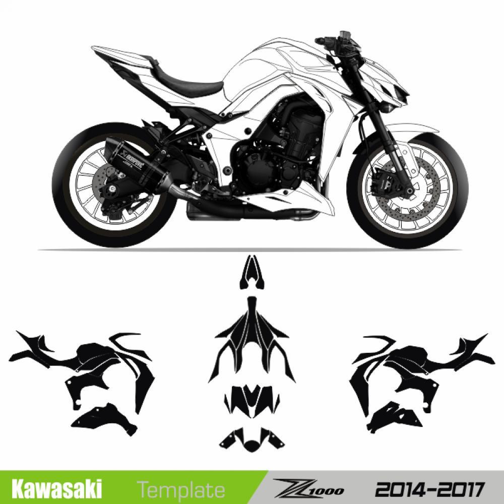 Kawasaki Z1000 2014 2017