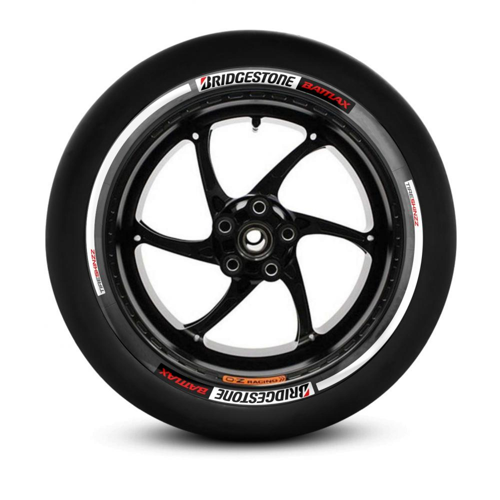 Tiresticker -Bridgestone Battlax- Tireskinzz