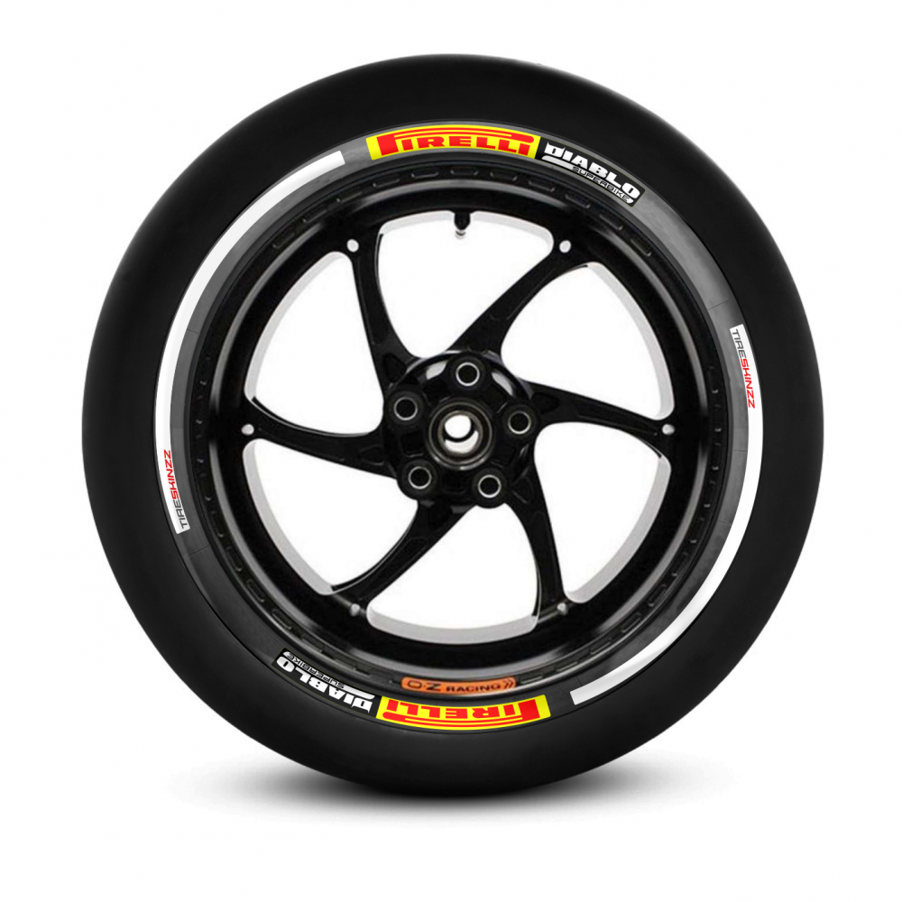 Tiresticker -PIRELLI Diablo Superbike- Tireskinzz
