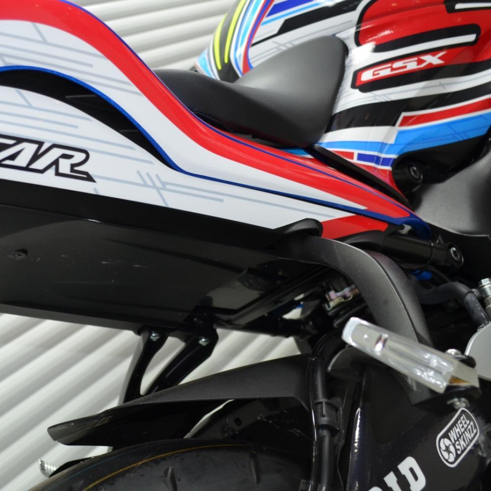 Motorradaufkleber Bikedekore Wheelskinzz Suzukigsxs