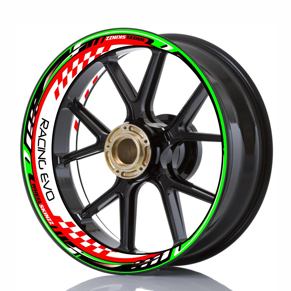 "Wheelskinzz® ""Racing EVO"" Tricolore Italy"