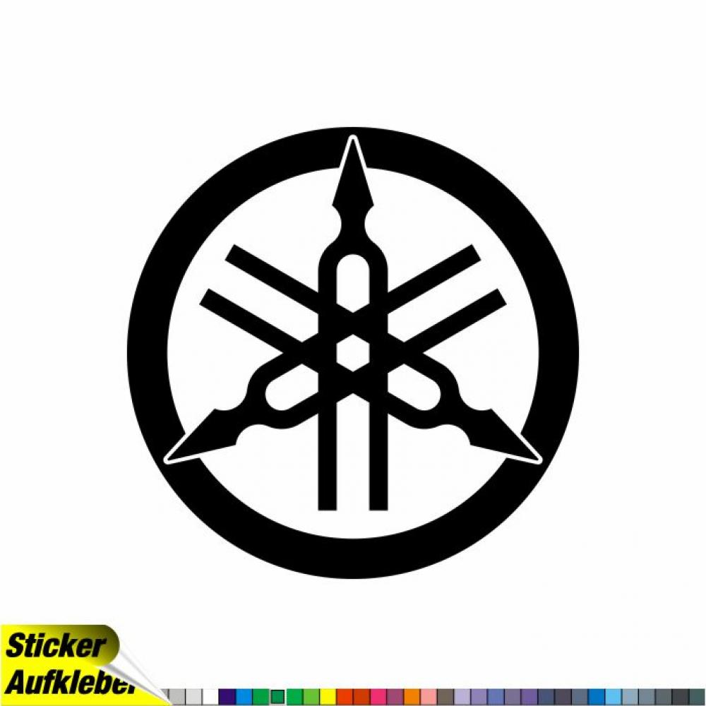 YAMAHA Logo - Aufkleber Sticker Decal