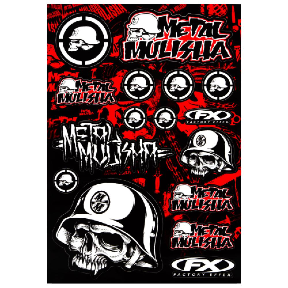 Metal Mulisha Aufkleberset / Sticker