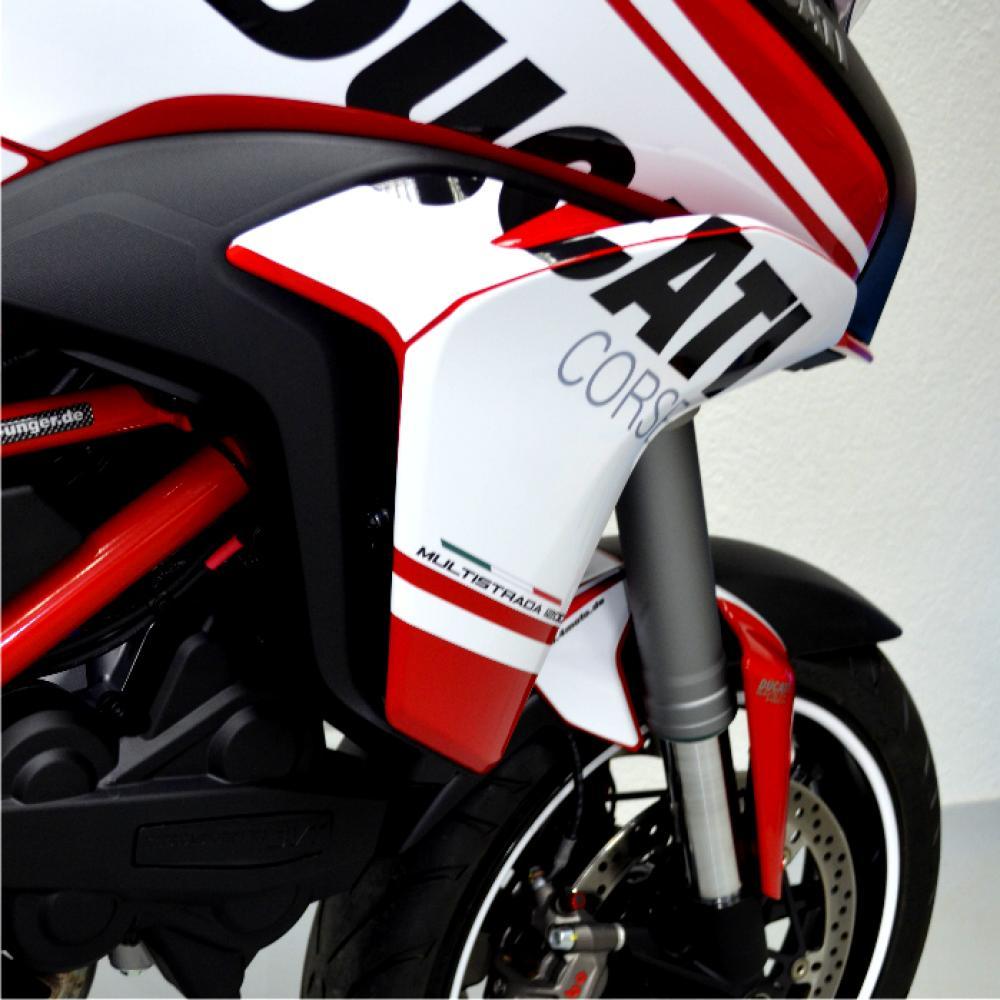 Motorradaufkleber Bikedekore Wheelskinzz Ducati