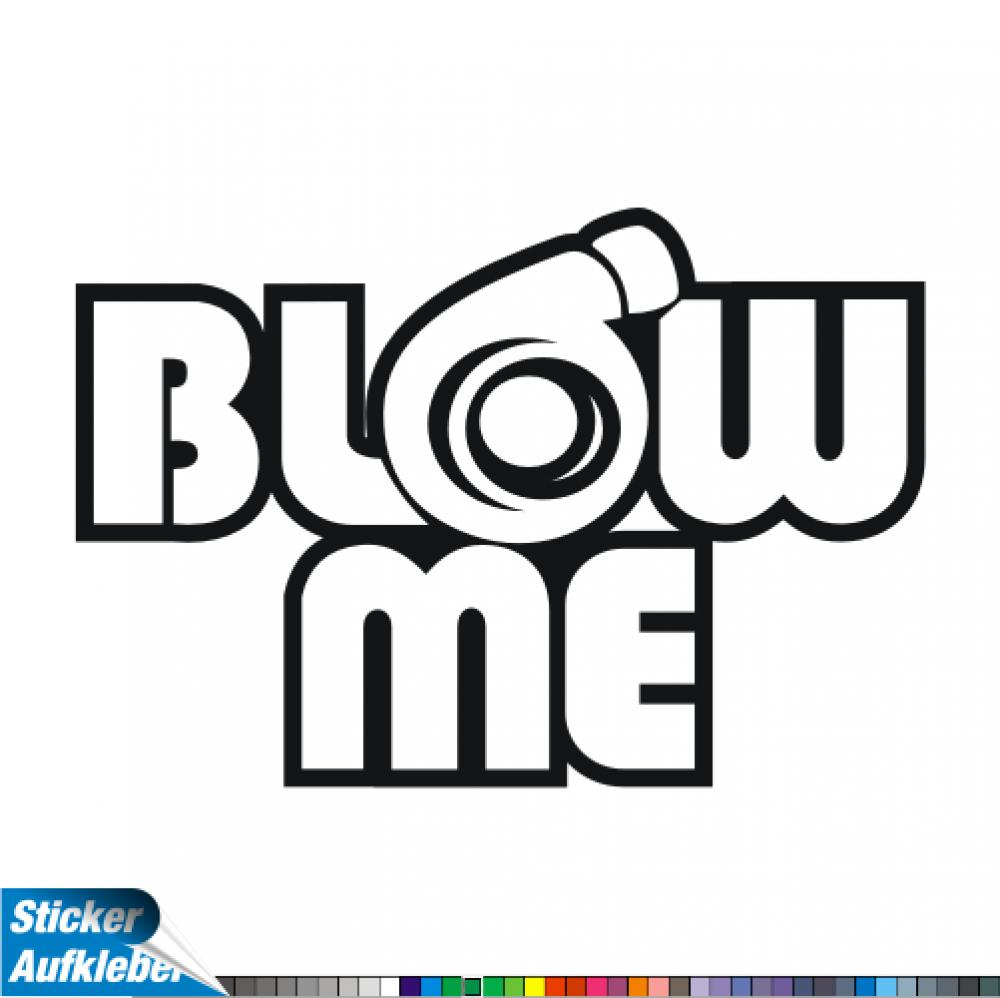 - Blow Me - Fun Sticker