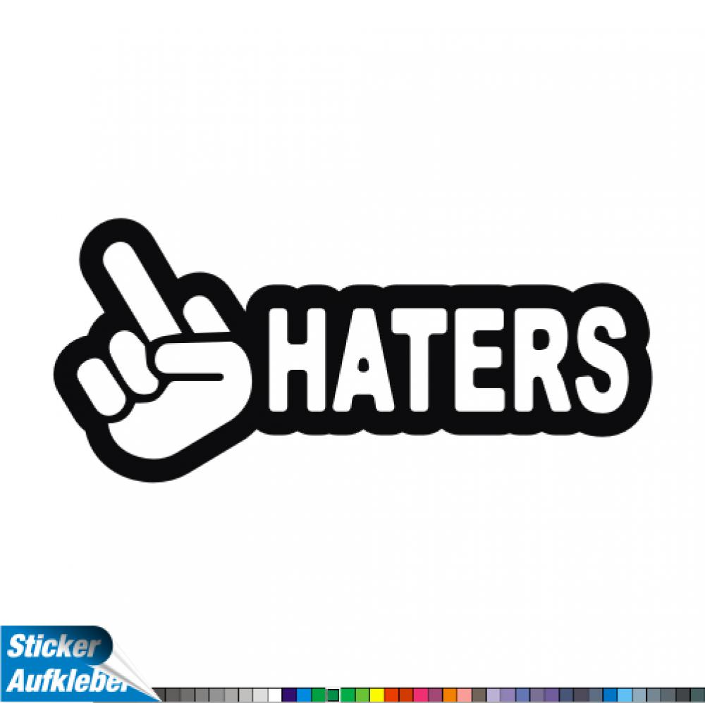 - Hater - Fun Sticker