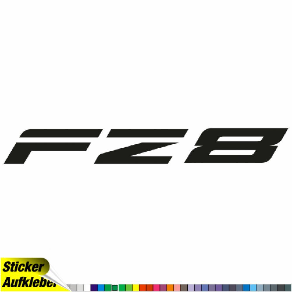 Motorradaufkleber Bikedekore Wheelskinzz Yamaha Fz8