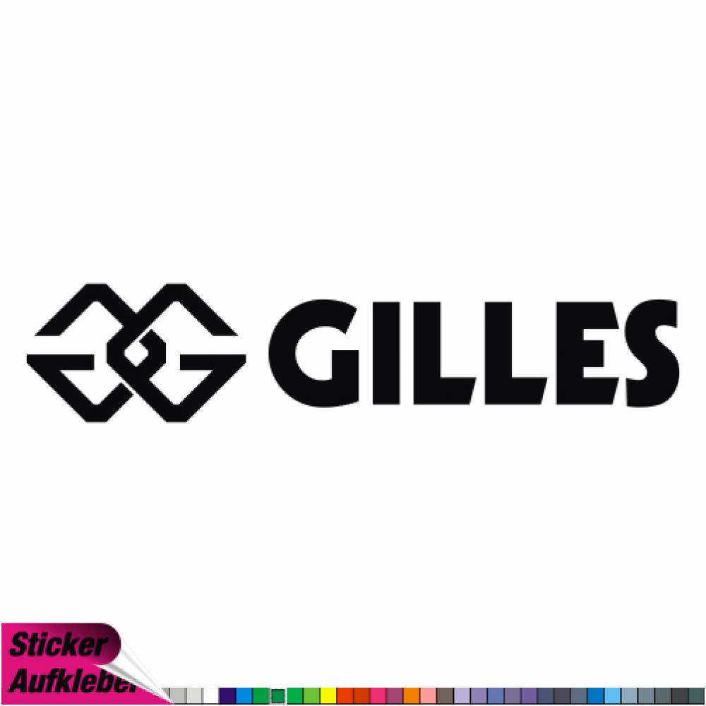 - gilles tooling NEW-1 - Aufkleber Sponsorenaufkleber Sticker