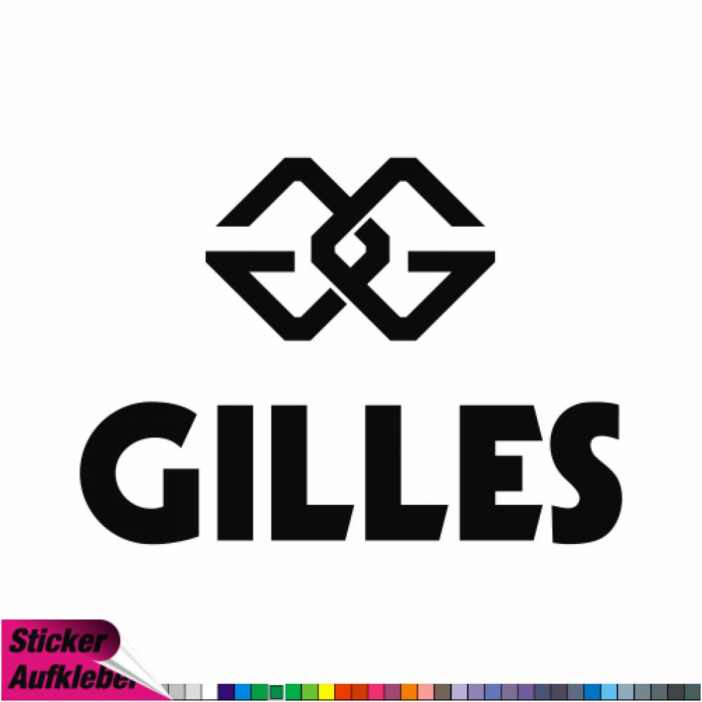 - gilles tooling NEW-2 - Aufkleber Sponsorenaufkleber Sticker