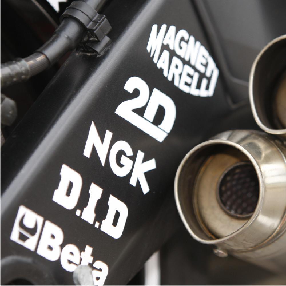 Motorradaufkleber Bikedekore Wheelskinzz Aufkleber