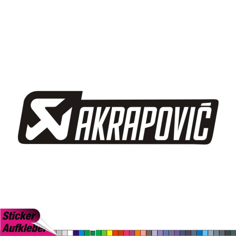 Akrapovic - Sticker Decals