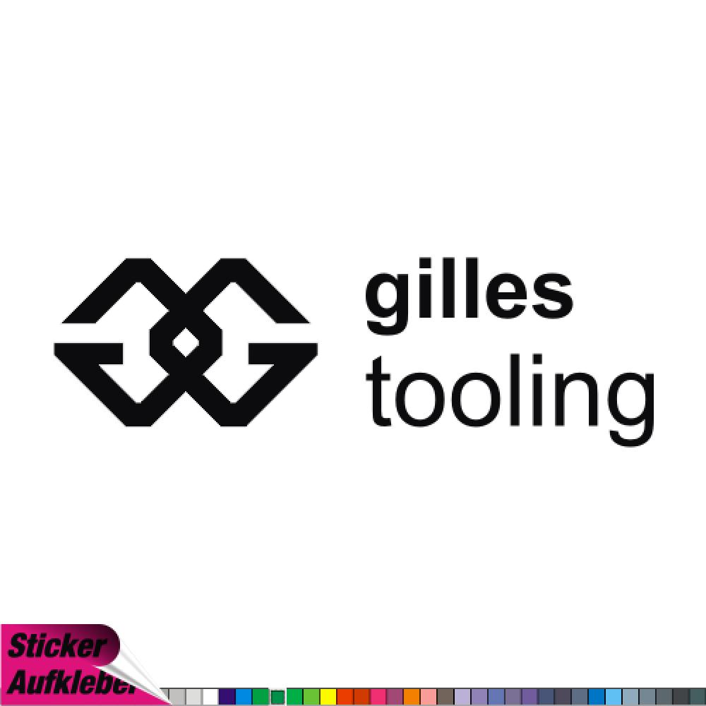 GILLES TOOLING - Sticker Decal