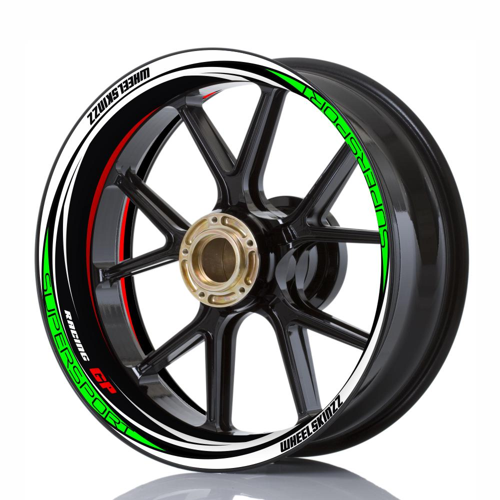 "Wheelskinzz® ""Racing GP"" Tricolore"