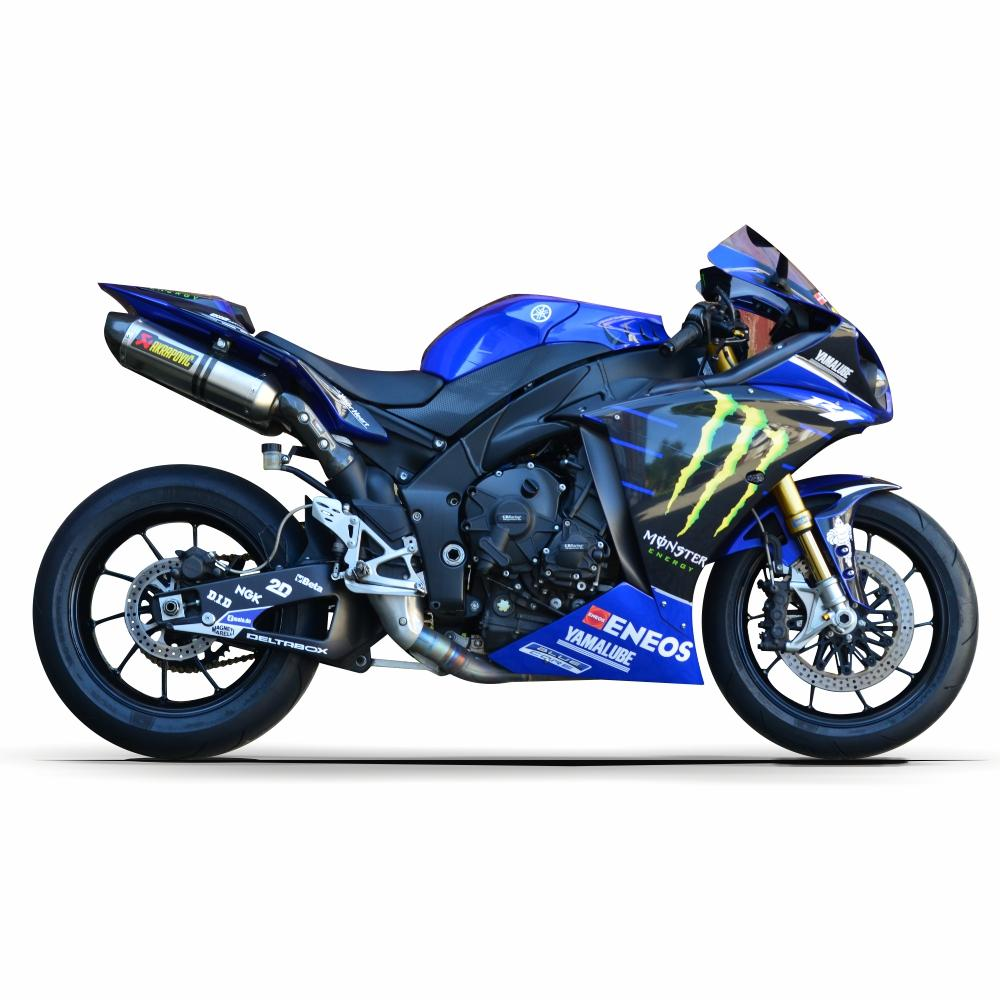 YAMAHA R1 RN22 09-14 Rossi Replica Monster Energy 2019  Dekor Stickerkit Graphics