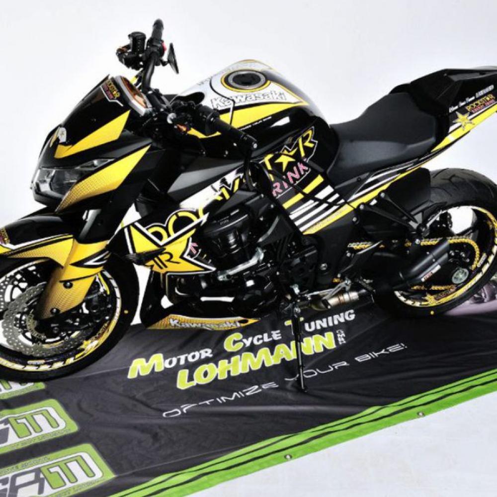 Kawasaki Z1000 Rockstar 10 13 Dekor Stickerkit