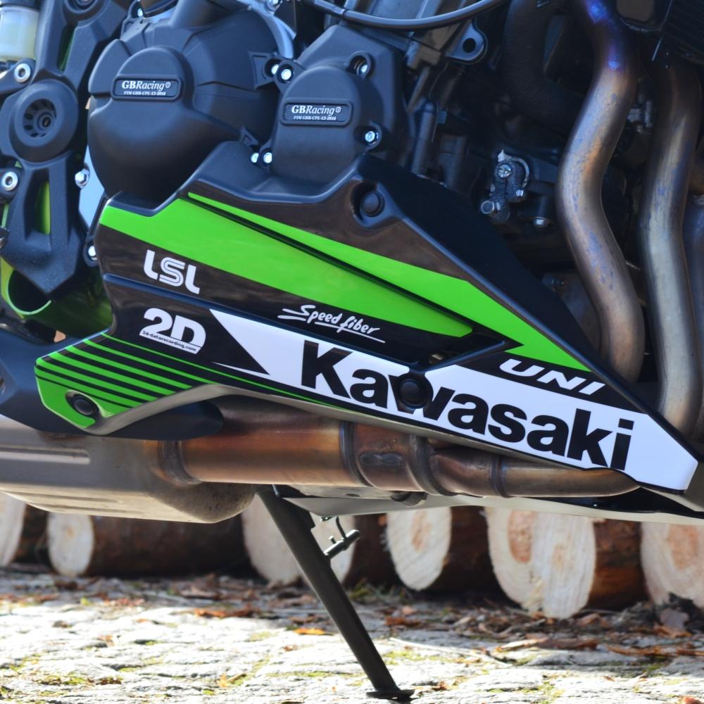 Motorradaufkleber Bikedekore Wheelskinzz Kawasaki Z900