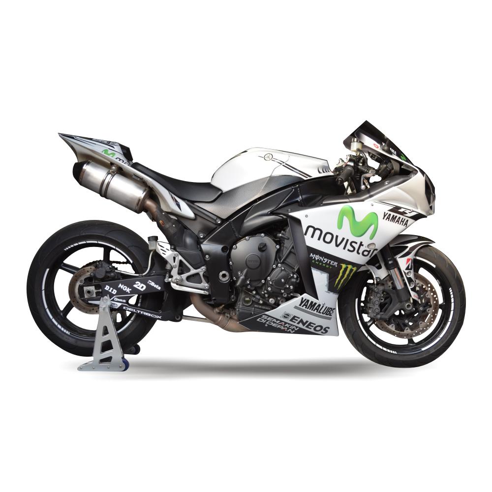 YAMAHA R1 RN22 09 14 Replica MotoGP Dekor Stickerkit
