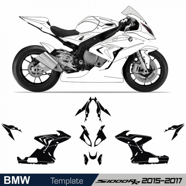 BMW S 1000 RR 2015 - 2018 Template