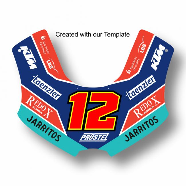 KTM RC 250 GP Factory Moto3  2018- Template