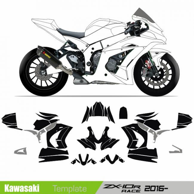 motosport templates - motorcycle graphics templates