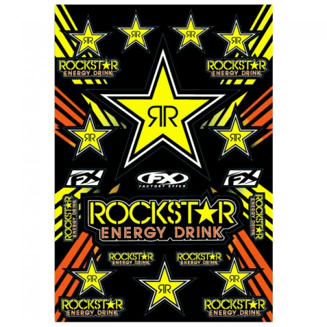 ROCKSTAR ENERGY Stickerkit