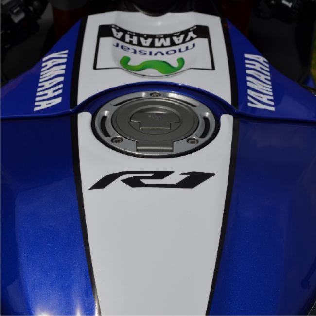 YAMAHA R1 RN32 15-19 Movistar Replica MotoGP Dekor Stickerkit
