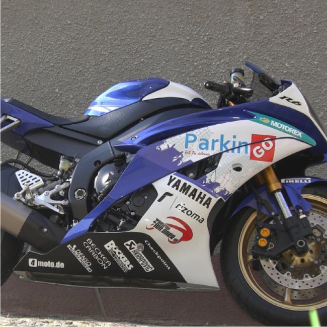 Motorradaufkleber Bikedekore Wheelskinzz Aufkleber Sponsoren