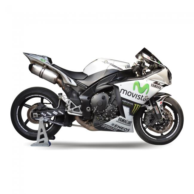 YAMAHA R1 RN22 09 14 Replica MotoGP Dekor Stickerkit Schwarz Weiss