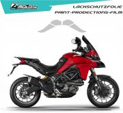 Ducati paint protection film - Multistrada 950,1200,1260 2015 - 2019