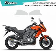 Kawasaki paint protection film Versys 1000  2015 - 2019