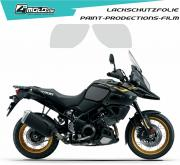 Suzuki paint protection film  V Strom 1000 2017 - 2019,V Strom 1000 XT 2017 - 2019, V Strom ABS 1000  2014 - 2017