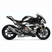 "BMW S1000RR 2019- Graphics Stickerkit ""RACESTP"" black/white"