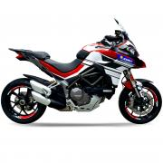 DUCATI Multistrada 1260 - Dekor Stickerkit BJ. 2018-